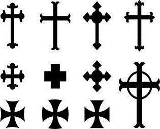 Small Simple Cross Tattoo Designs