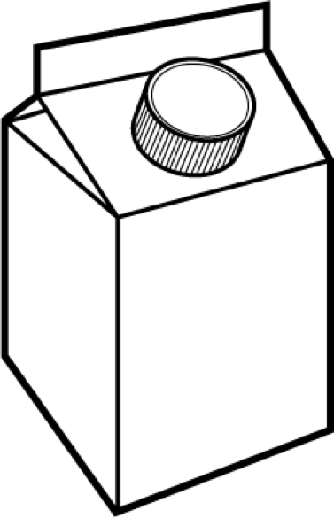 Milk Carton Cartoon - ClipArt Best