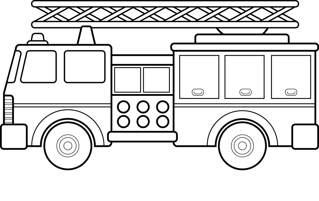 Free Printable Fire Truck Coloring Pages For Hagio Graphic - ClipArt Best  - ClipArt Best