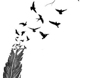 Freedom Bird Tattoos Drawn - ClipArt Best