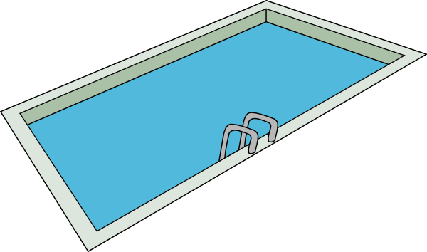 Cartoon pictures of a swimming pool clipart best How to draw swimming pool water