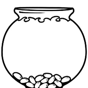 Empty fish bowl coloring page clipart best for Empty fish bowl coloring page