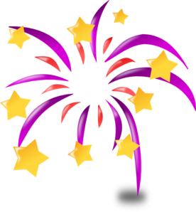 Cartoon Fireworks clip art - vector clip art online, royalty free ...