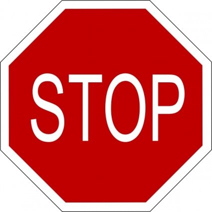 Dynamite image in printable stop signs