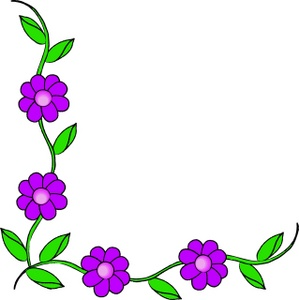 Free Flower Clipart Borders - ClipArt Best