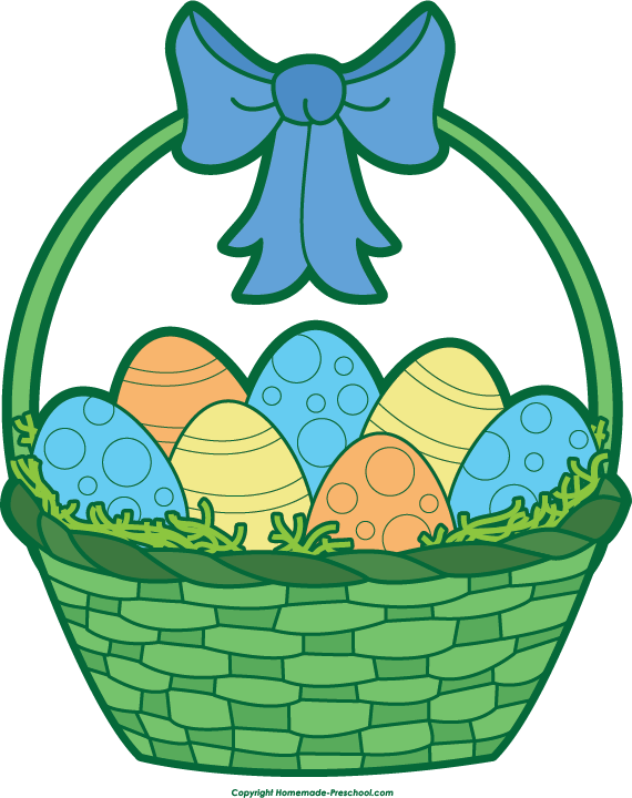 Art Basket Images : Easter day clip art clipart best