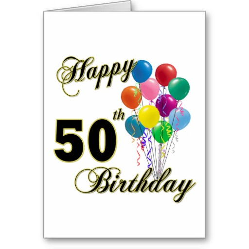 50 Happy Birthday To Me Quotes Images You Can Use: Happy 50th Birthday Images