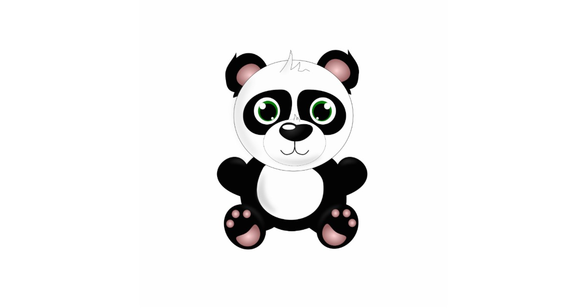 how to draw a cartoon baby panda