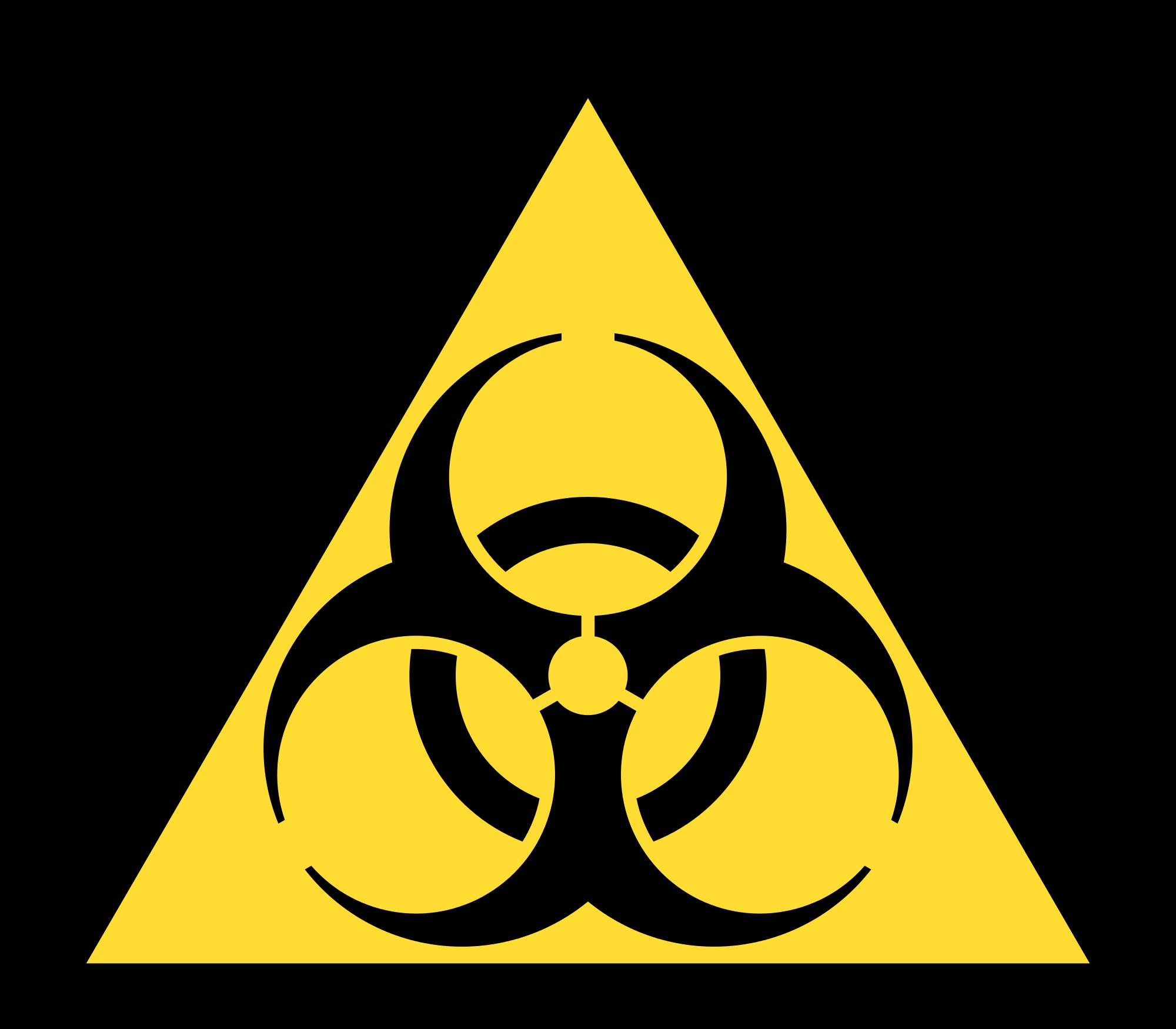 Biohazard Zeichen - ClipArt Best