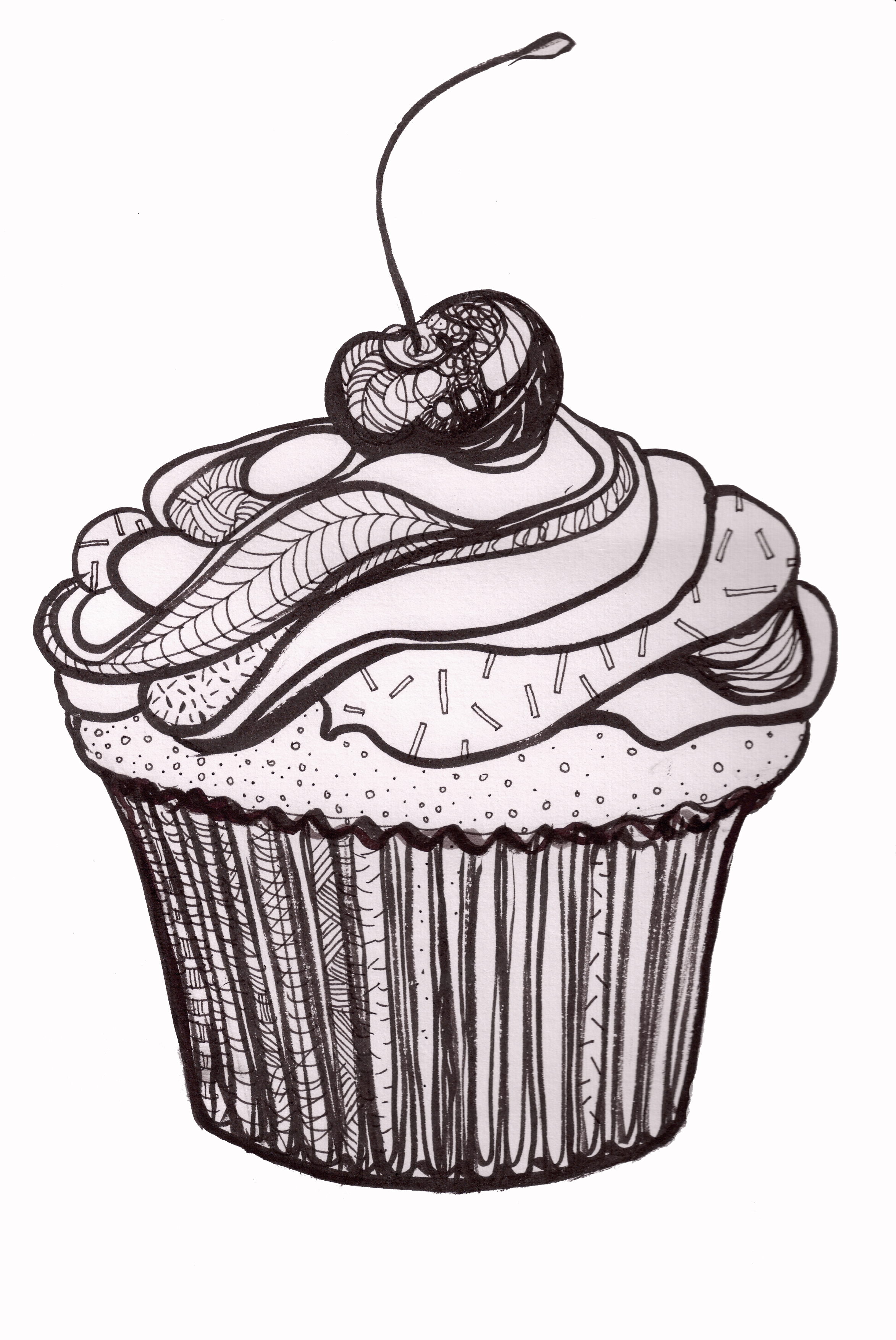 Cup Cake Clip Art Free