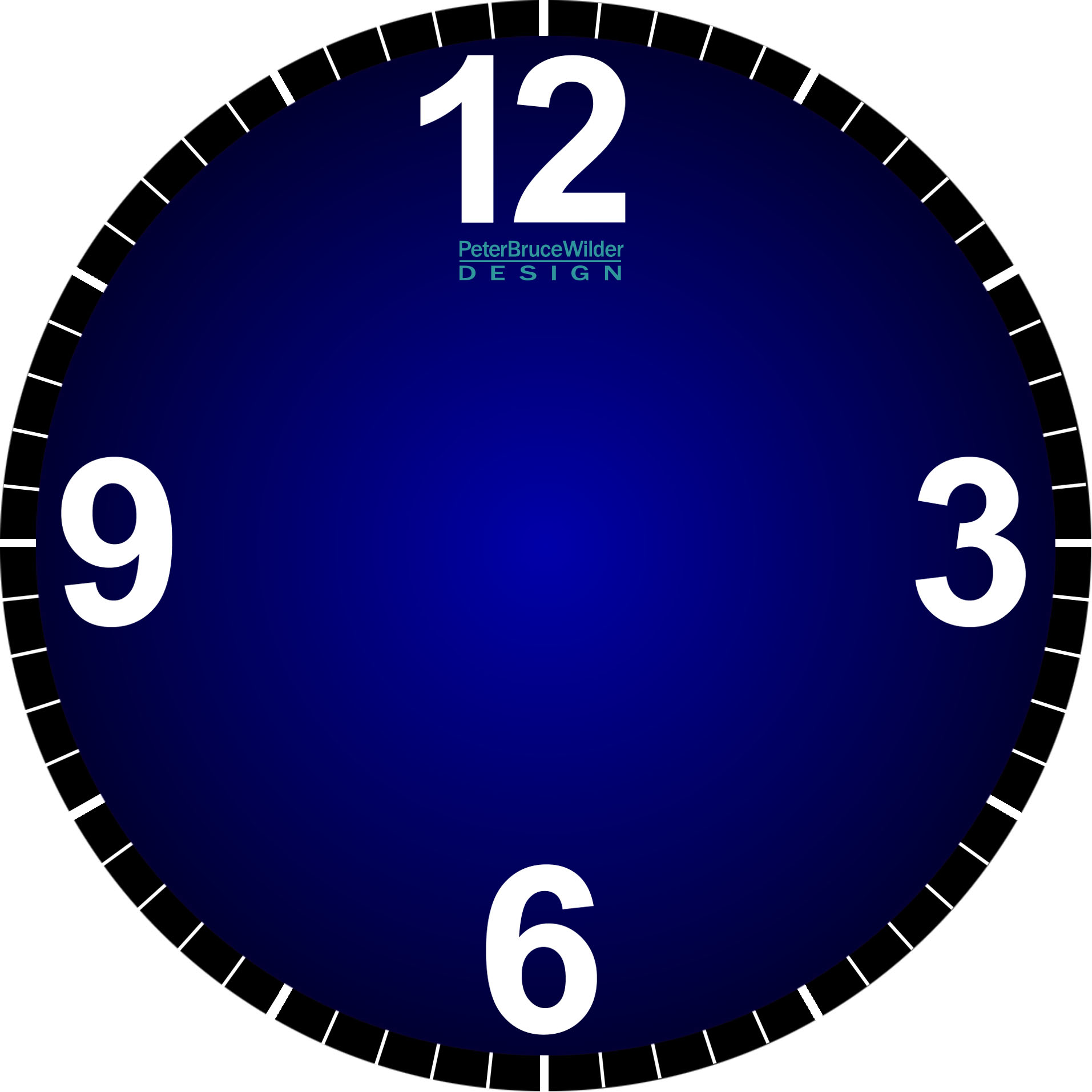 Printable Clock Face Without Hands - ClipArt Best