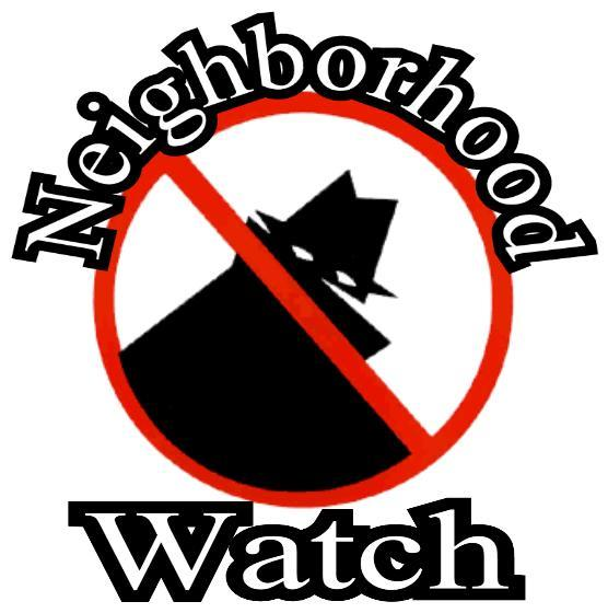 Neighborhood Watch Logo Clipart