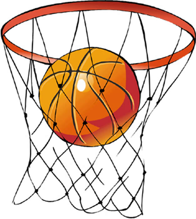 Basketball With Net Clipart - ClipArt Best