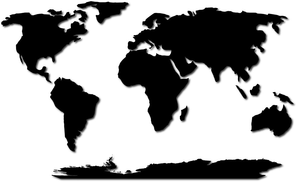The World Map Simple - ClipArt Best