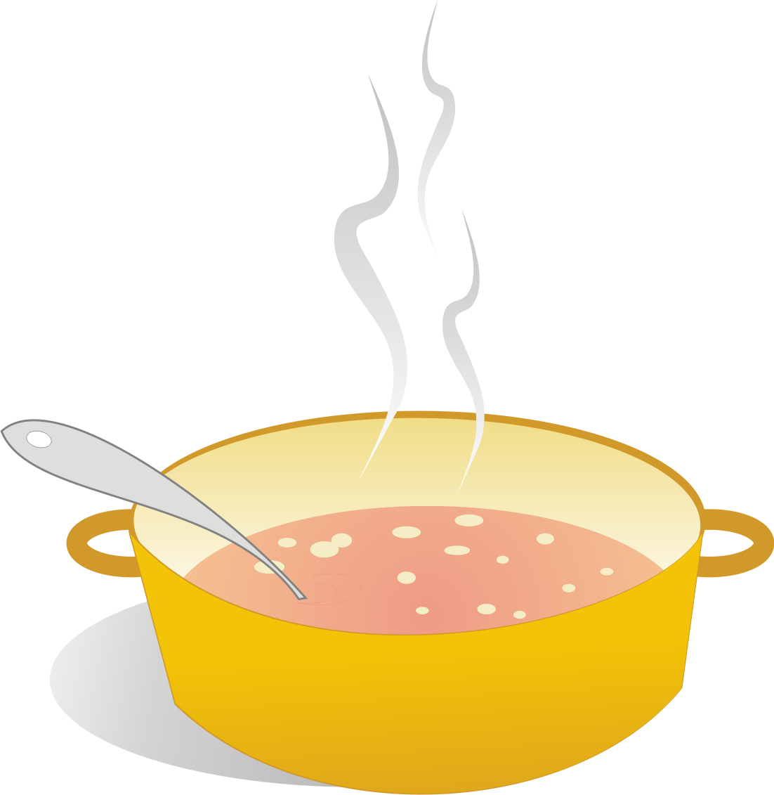 Cartoon Bowl Of Soup Clip art image of soup can
