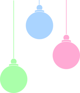 Christmas Ornaments clip art - vector clip art online, royalty ...