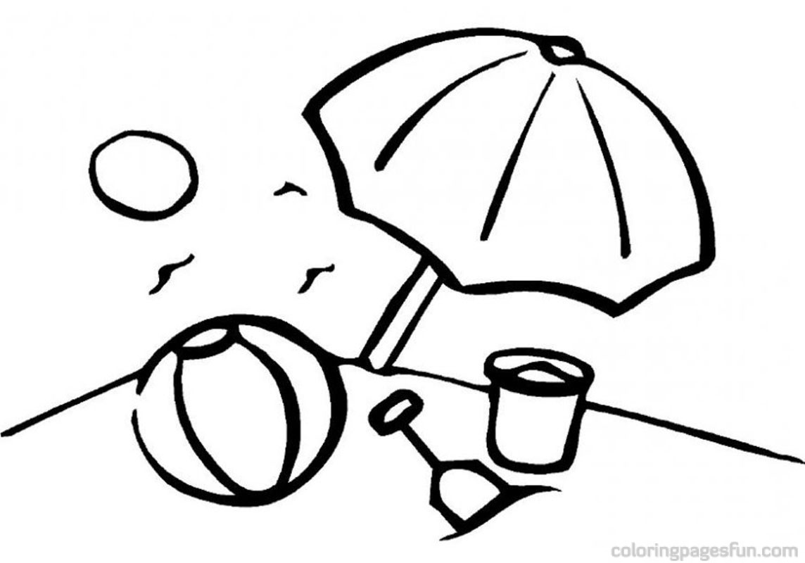 Free Coloring Pages Seaside