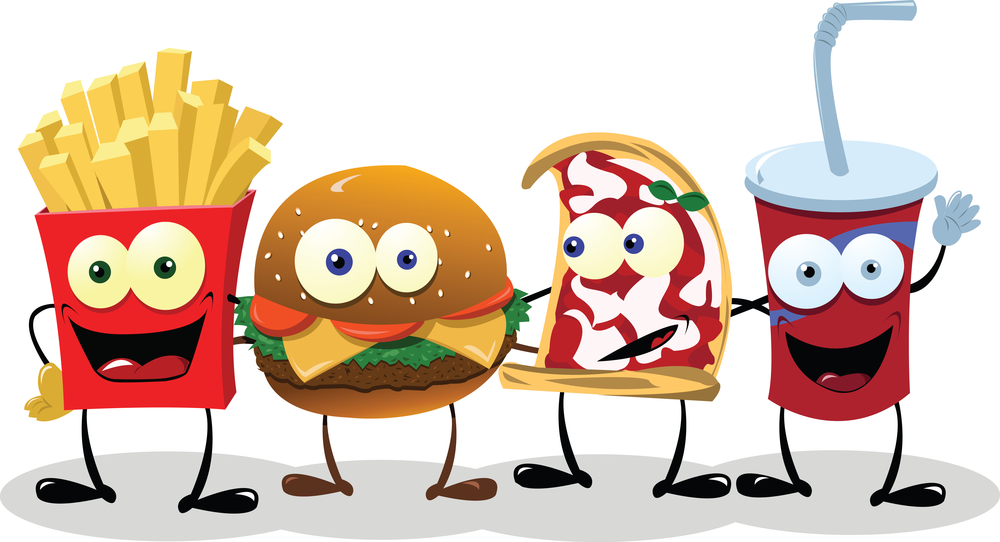 Animated fast food clipart best for Animation cuisine