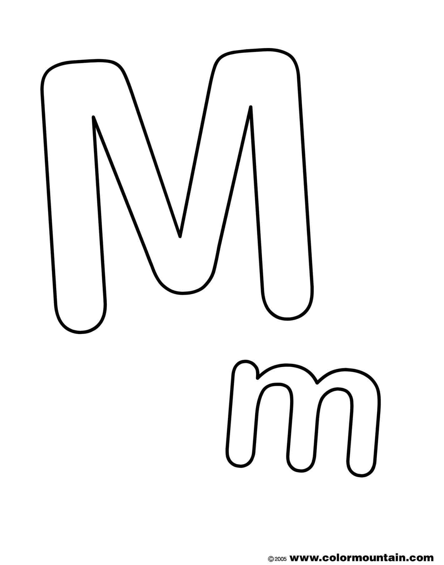 how to make a bubble letter m | weeklyplanner.website