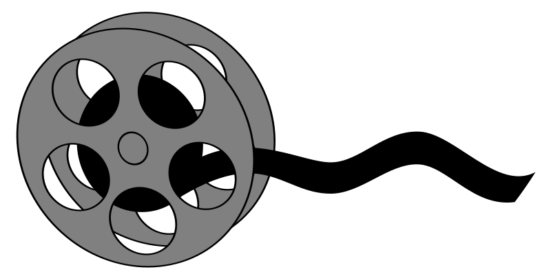 Film reel clipart - ClipartFox