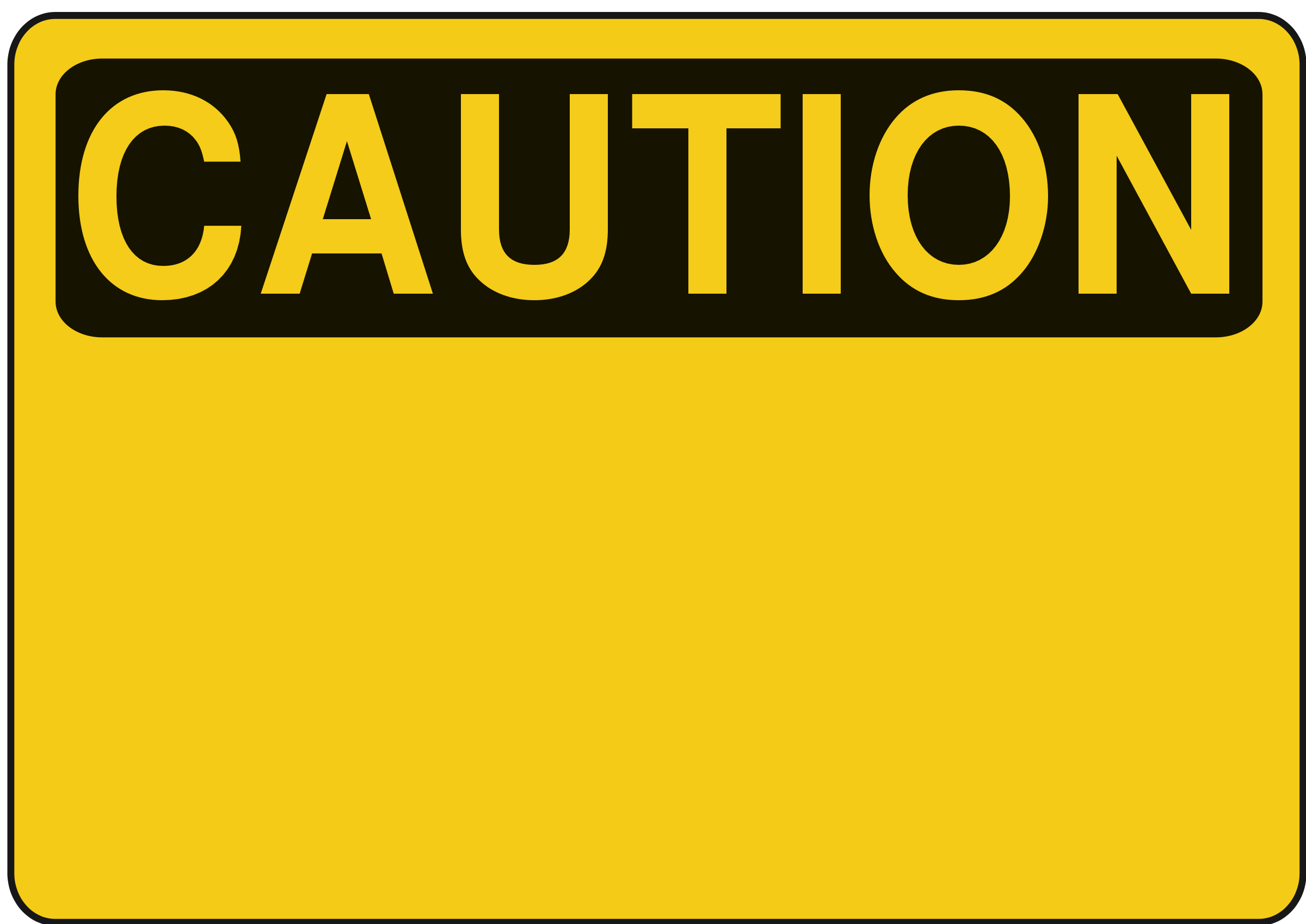 Blank Construction Sign Clipart