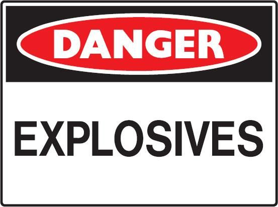 Warning Explosive Clipart Best
