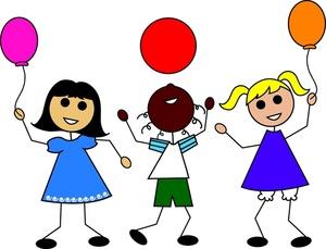 Friends Clipart Image Stick Kids Silhouettes - ClipArt Best - ClipArt ...