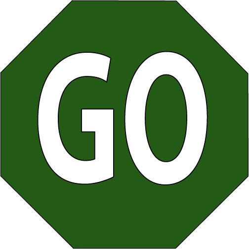 printable stop and go signs clipart best