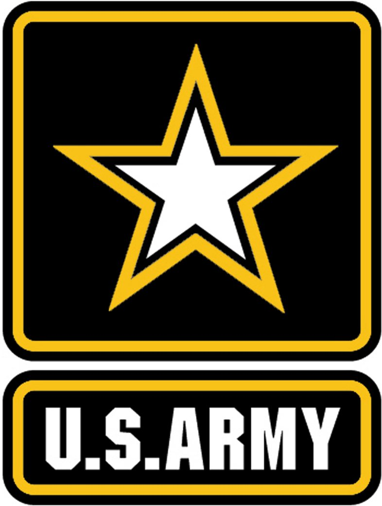 U.s. Army Logo Black And White Clipart