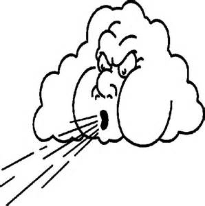 cloudy weather coloring pages - photo#29