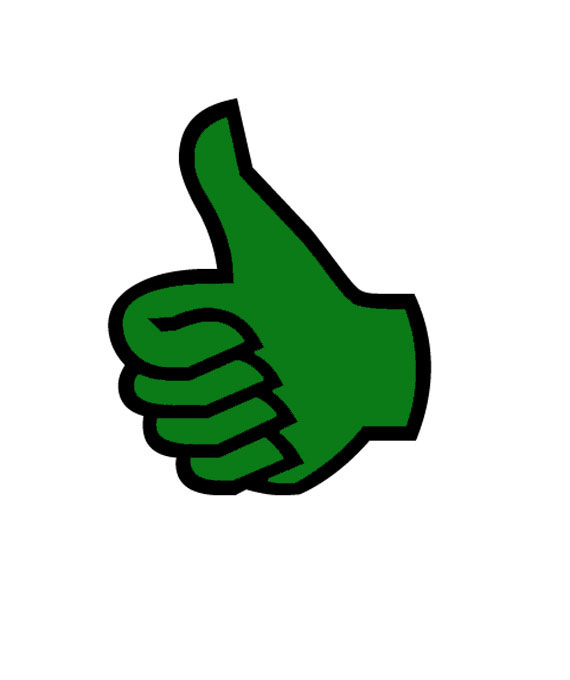 Thumbs Up Green - ClipArt Best
