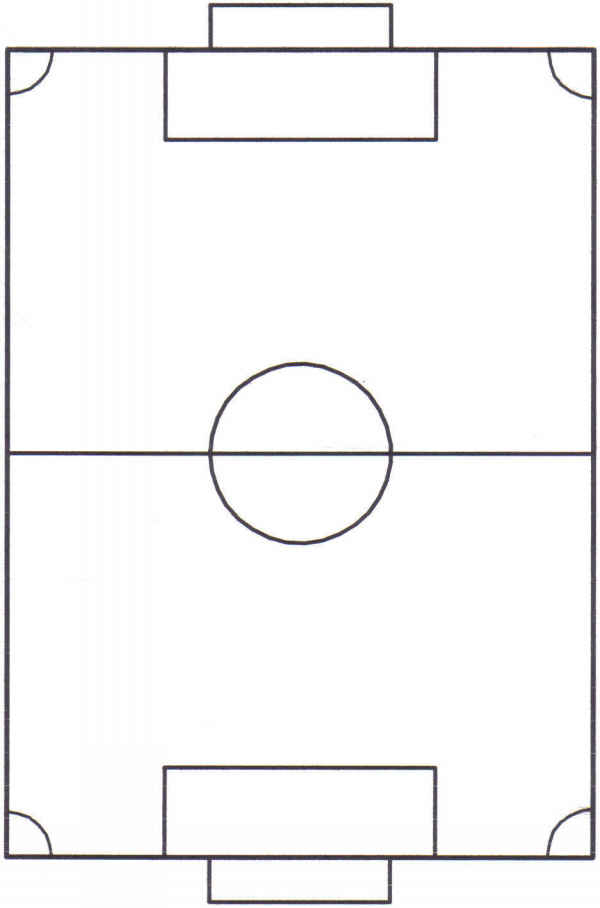 soccer pitch   clipart best    diagram of a pitch  x  px  x  px football picture