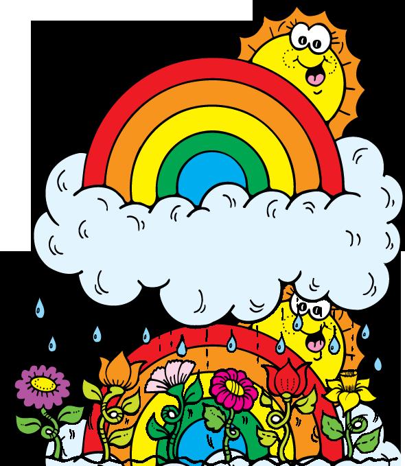 April Showers Art - ClipArt Best