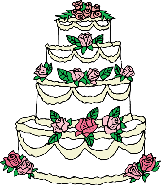 Cake Designs Clip Art : Cakes Drawing - ClipArt Best