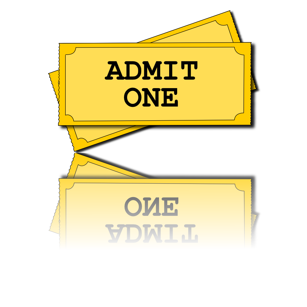 Admit One Invitations Template Admit one ticket template