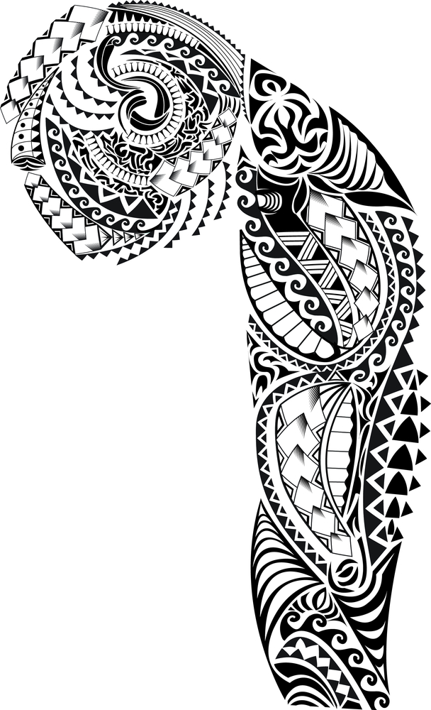 Sleeve Template Tattoo: Tribal Tattoo Sleeve Stencilsdesign Sleeve Tattoo Template