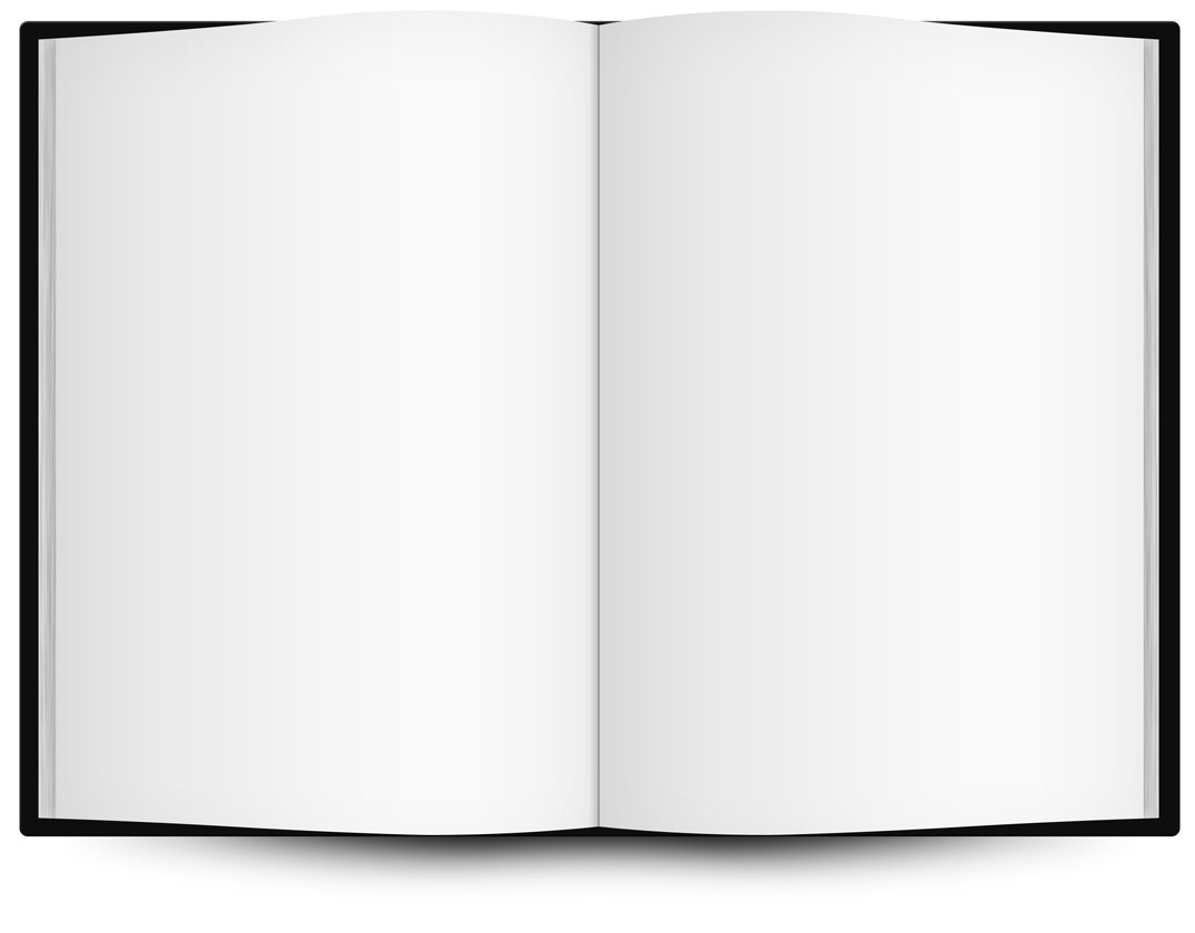 Blank Book Cover Graphic ~ Blank open book clip art clipart best