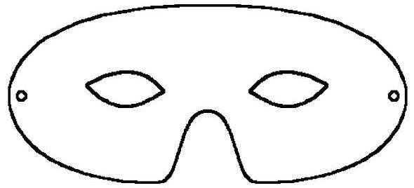 Superhero Mask Clipart Super Hero Mask Template