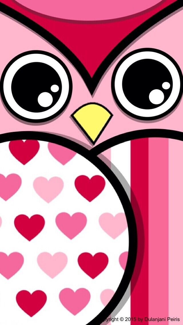 Colorful Owl Wallpaper - ClipArt Best