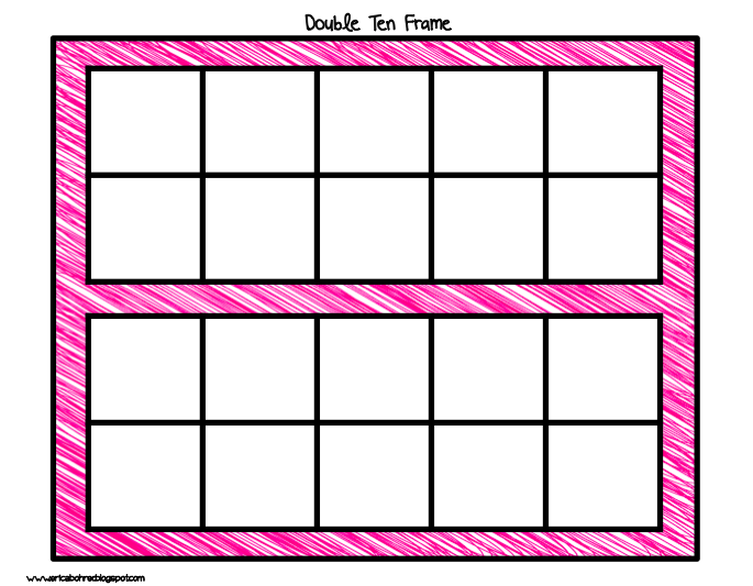 10 frame template printable - blank ten frame free template clipart best