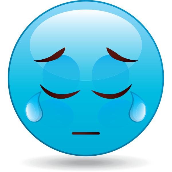 sad blue smiley clipart best sad face clip art free images sad face clip art crying