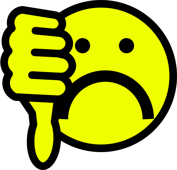 Sad Smiley Face Clipart - Free Clipart Images