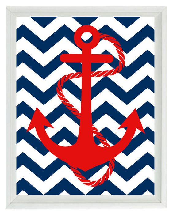 chevron background with anchor computer clipart best
