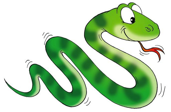 Free Clip Art Comical Red Snake - ClipArt Best