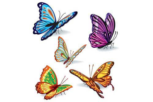 Flying Butterfly Cartoon - ClipArt Best