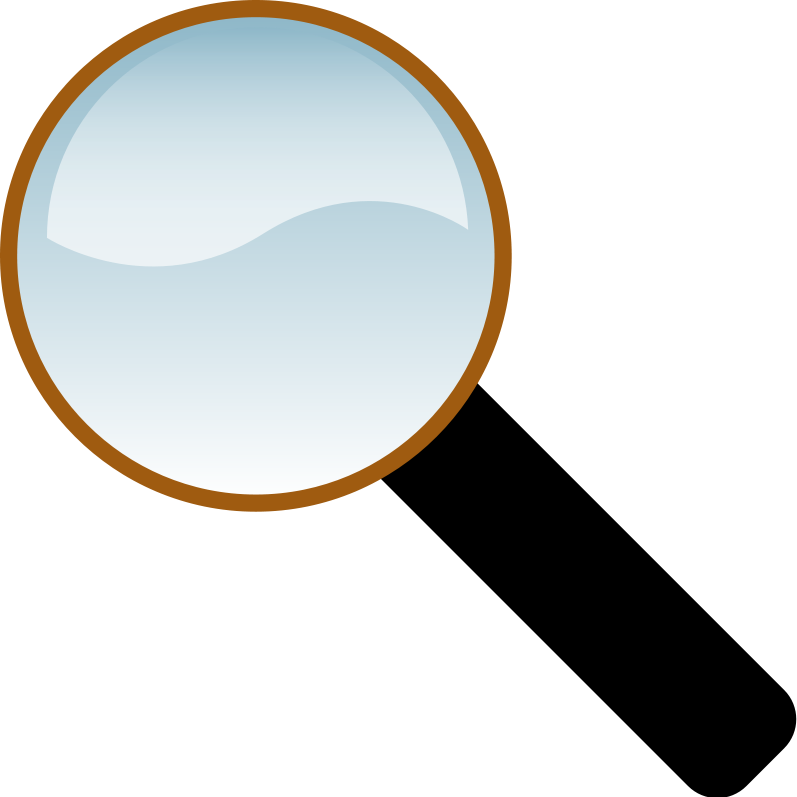 Clipart - Magnifying glass