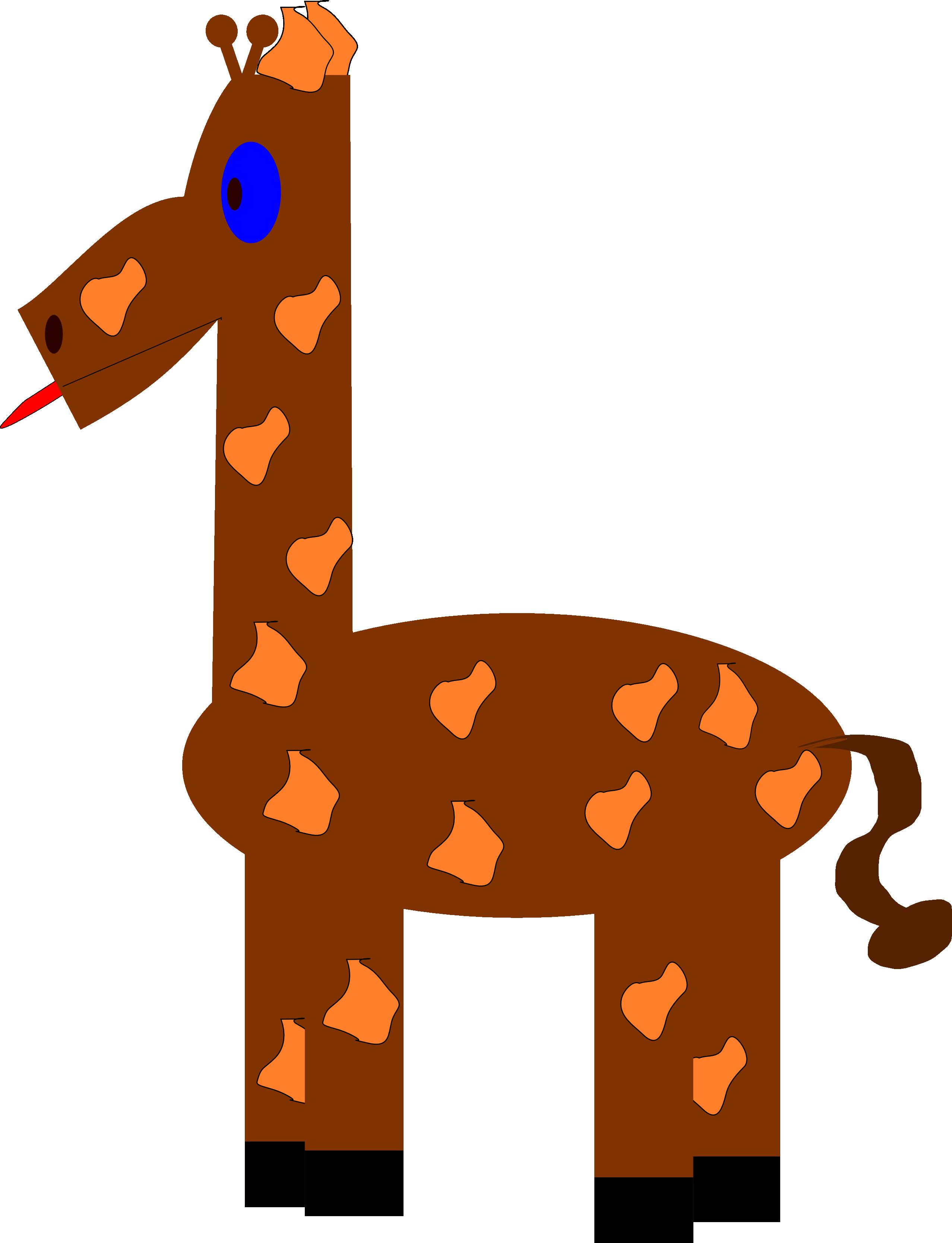 Funny giraffe christmas xmas clipart best clipart best