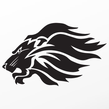 Vinyl Decal Sticker Lion Tiger Racing Wild Cat Heraldic ...