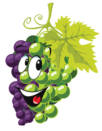 Cartoon Grapes Cartoon grape