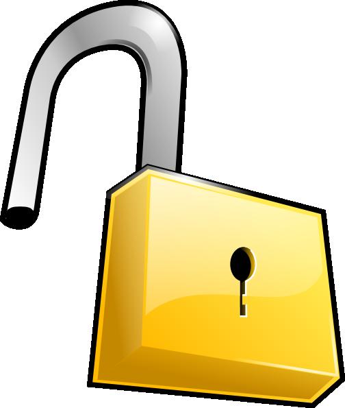 padlock and key clipart - photo #22